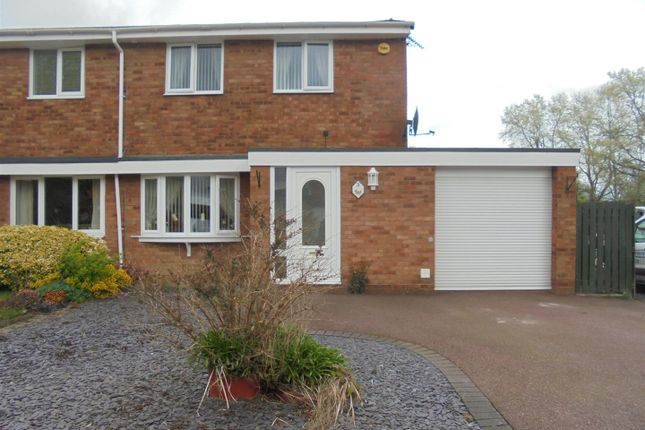 Semi-detached house for sale in Buckingham Crescent, Stirchley, Telford