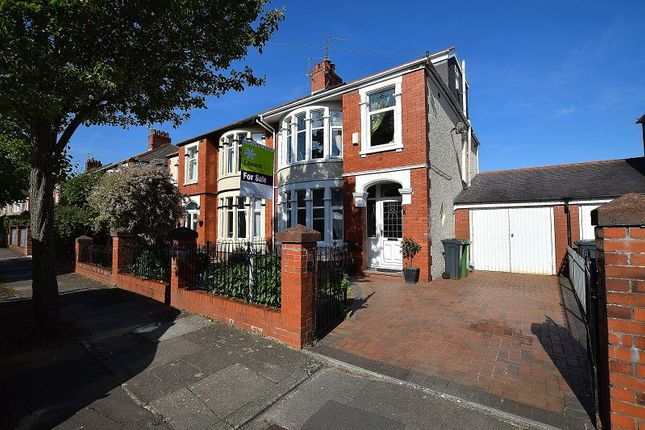 Thumbnail Semi-detached house for sale in St. Augustine Road, Heath, Cardiff.
