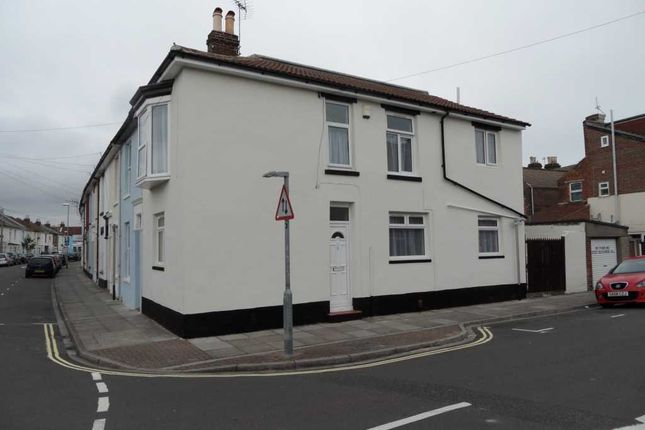 Thumbnail Terraced house to rent in Trevor Road, Southsea