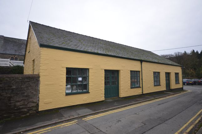 Thumbnail Commercial property to let in Trem Yr Orsedd, Machynlleth