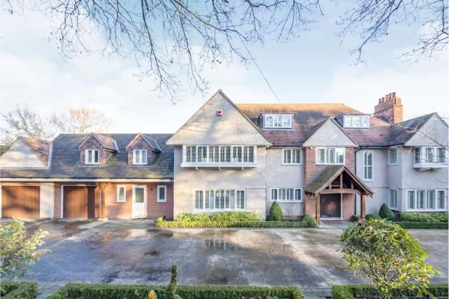 Thumbnail Detached house for sale in Swithland Lane, Rothley, Leicester, Leicestershire