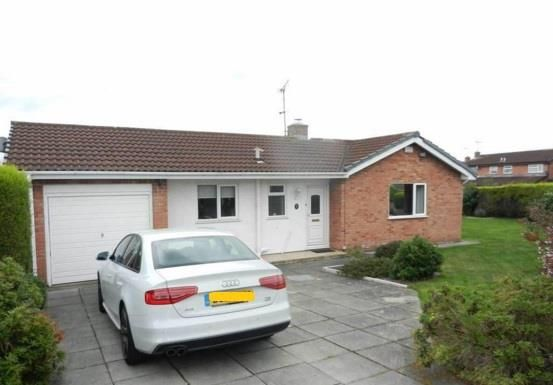 3 bed detached bungalow for sale in Northleigh Grove, Wrexham