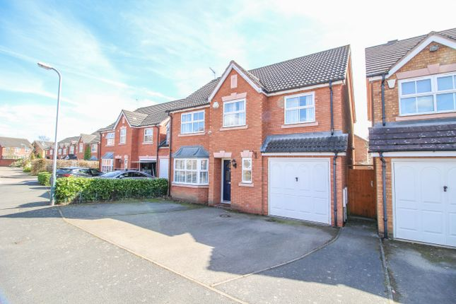 Thumbnail Detached house for sale in Millennium Way, Wolston, Coventry