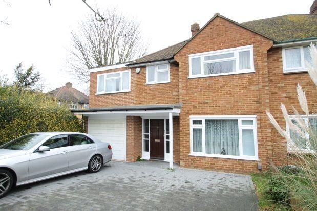Thumbnail Semi-detached house to rent in Ridgeway Crescent Gardens, Orpington