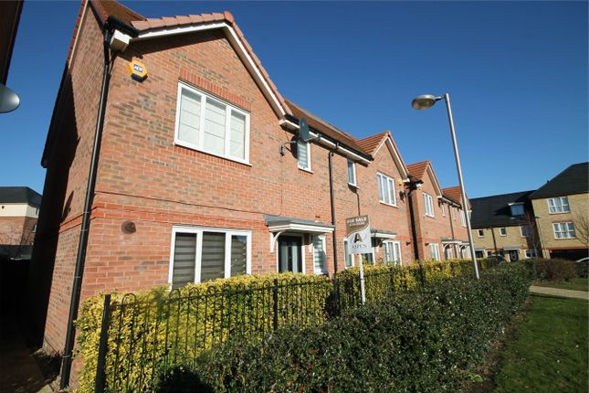 Thumbnail Semi-detached house for sale in Holywell Way, Staines-Upon-Thames