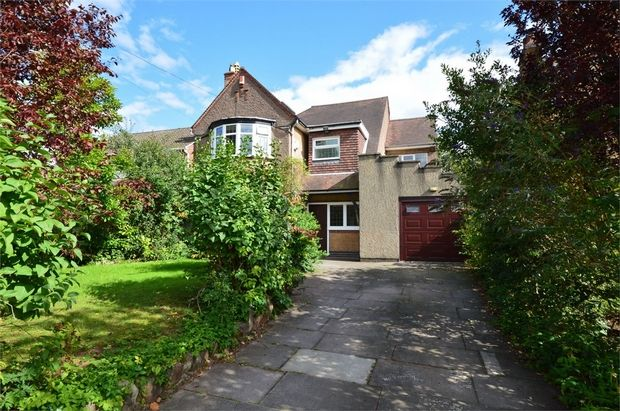 Thumbnail Detached house for sale in Warwick Avenue, Earlsdon, Coventry, West Midlands