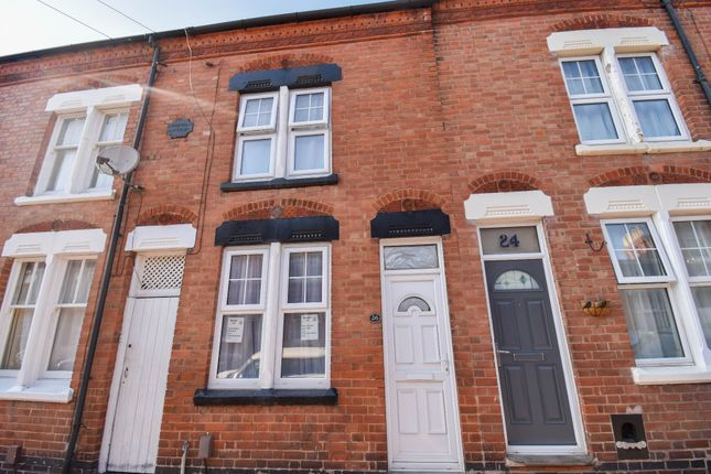 Thumbnail Terraced house to rent in Montague Road, Leicester
