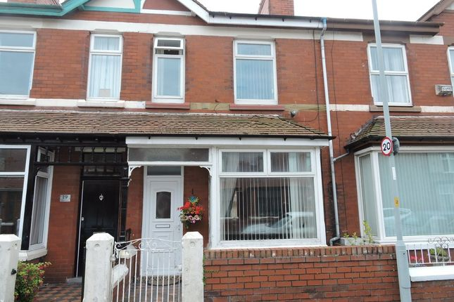 Thumbnail Terraced house for sale in Dryden Road, Fleetwood