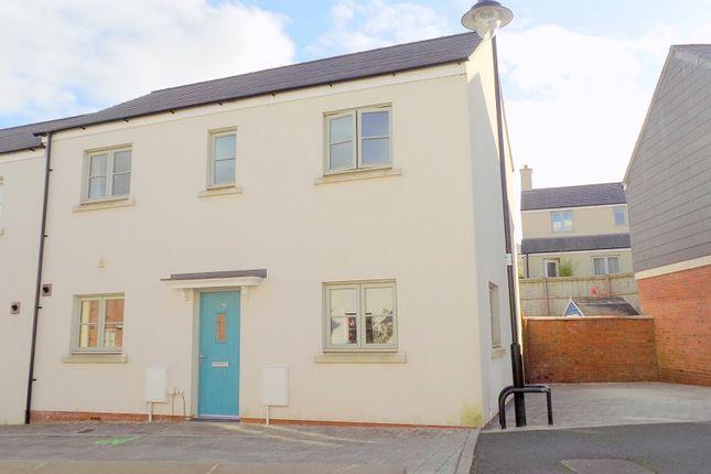 Thumbnail Semi-detached house for sale in Lon Y Grug, Llandarcy, Neath, Neath Port Talbot.