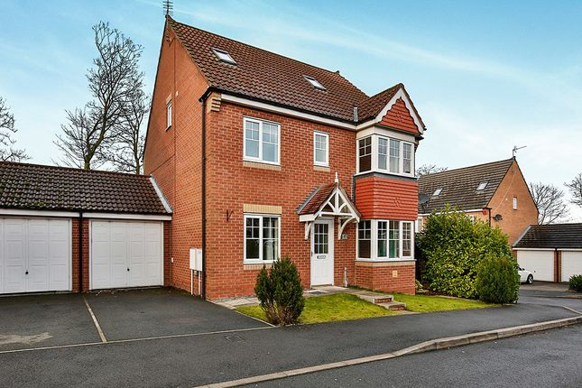 Thumbnail Detached house to rent in Coppice Mount, Crook
