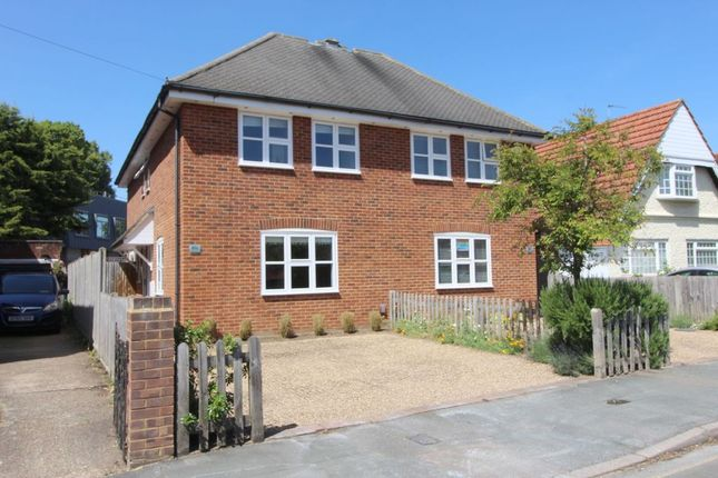 Thumbnail Semi-detached house for sale in Grange Road, Egham