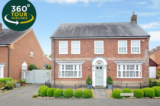 Thumbnail Detached house for sale in Foxpond Lane, Oadby, Leicester