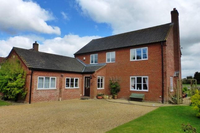 Thumbnail Detached house for sale in Warners End, Scoulton, Norwich