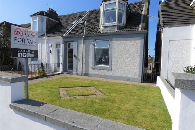 Thumbnail Semi-detached house for sale in Ardrossan Road, Saltcoats