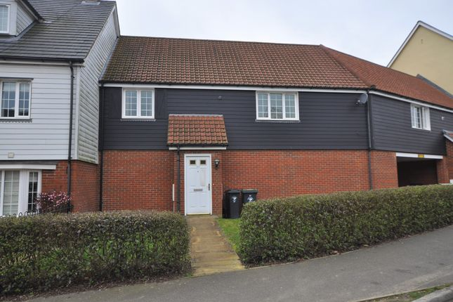Thumbnail Maisonette to rent in Canon Road, Little Dunmow, Dunmow