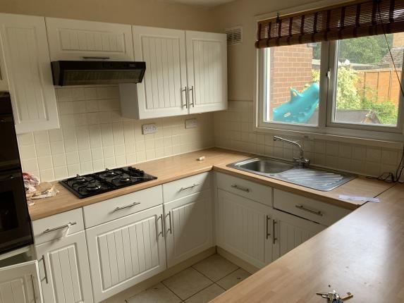 Kitchen of Wyre Close, Rubery, Rednal, Birmingham B45