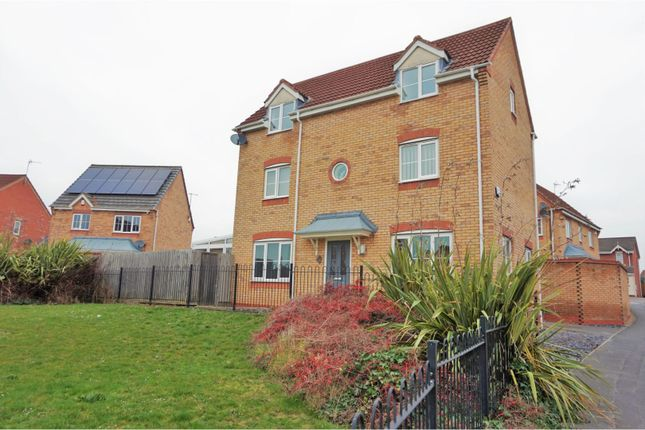 Thumbnail Detached house for sale in Slade Close, Leicester