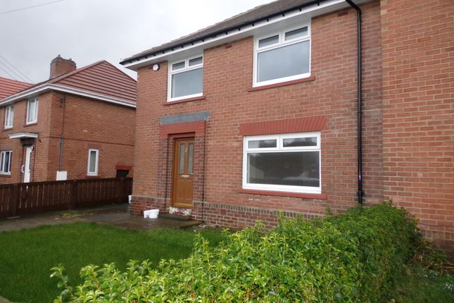 Thumbnail Semi-detached house for sale in Derwent Crescent, Leadgate, Consett