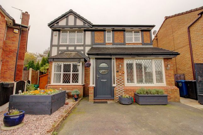 Thumbnail Detached house for sale in Parkside Close, Radcliffe, Manchester