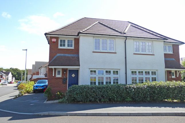 Thumbnail Semi-detached house for sale in Sheen Court, The Walk, Ystrad Mynach, Hengoed