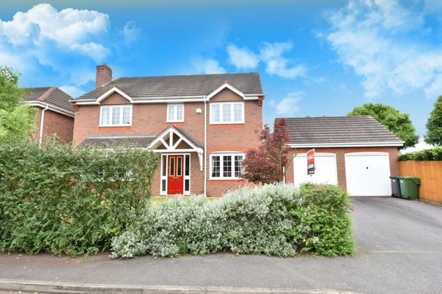 Thumbnail Detached house for sale in Appletrees Crescent, Bromsgrove