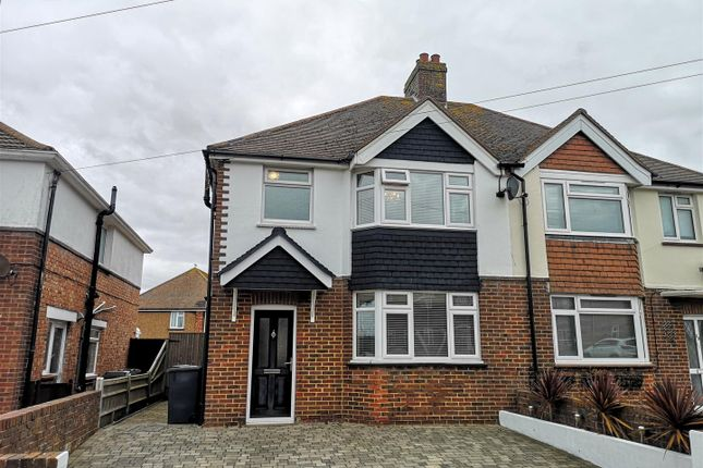 3 bed semi-detached house for sale in Churchdale Road, Eastbourne BN22