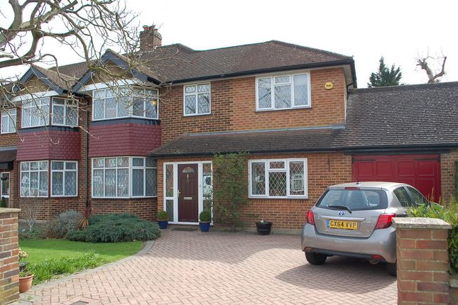 Thumbnail Semi-detached house for sale in Queens Way, Feltham