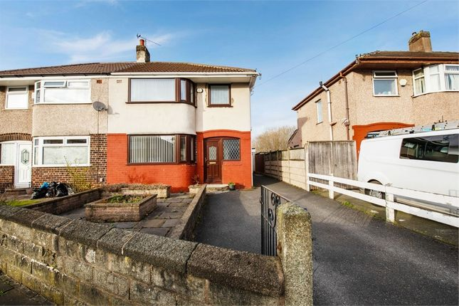 Thumbnail Semi-detached house for sale in Oriel Drive, Liverpool, Merseyside