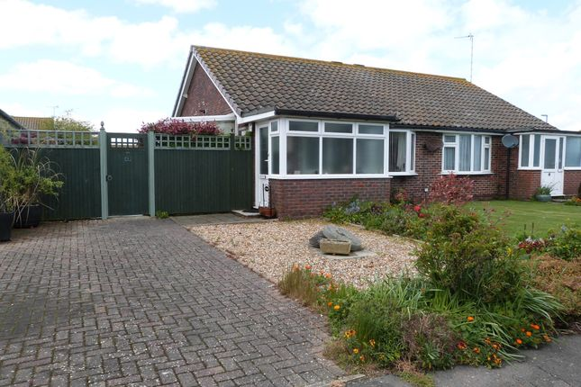 Thumbnail Semi-detached bungalow for sale in Broad View, Selsey, Chichester