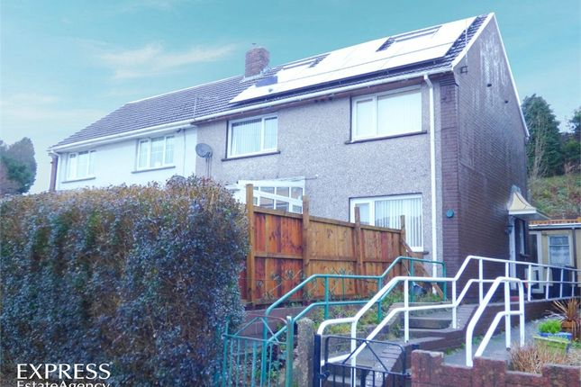 Thumbnail End terrace house for sale in Baillie Smith Avenue, Crumlin, Newport, Blaenau Gwent