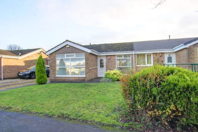 Thumbnail Bungalow for sale in Norwich Close, Great Lumley, Chester Le Street