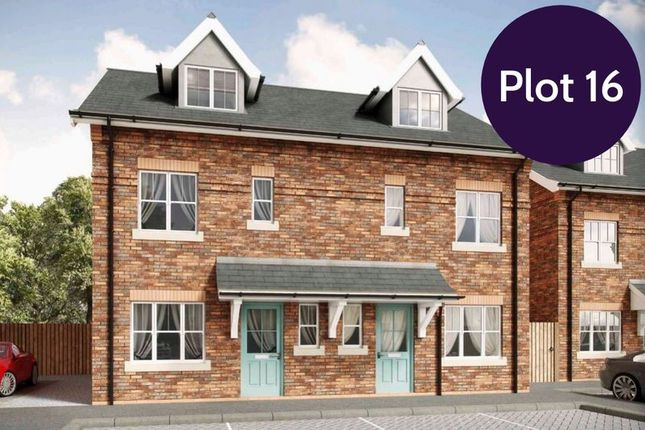 Thumbnail Semi-detached house for sale in Lime Kiln Court, Gwernymynydd, Mold
