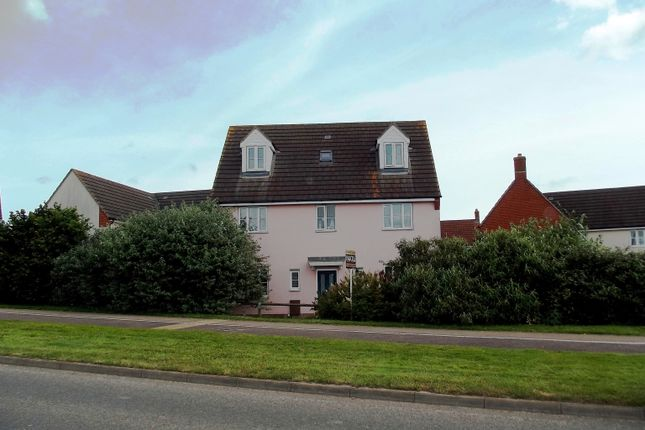 6 bed detached house for sale in Brambling Close, Stowmarket