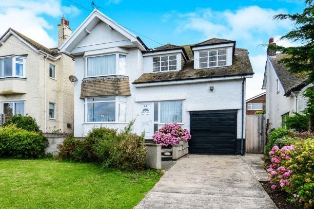 Thumbnail Detached house for sale in Llandudno Road, Penrhyn Bay, Llandudno, Conwy