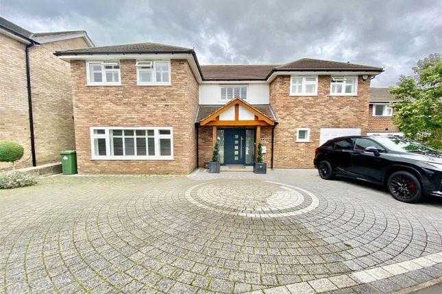 Thumbnail Detached house for sale in Broadfields, Goffs Oak, Waltham Cross