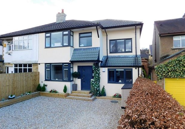 Thumbnail Semi-detached house for sale in West Way, Nab Wood, Shipley