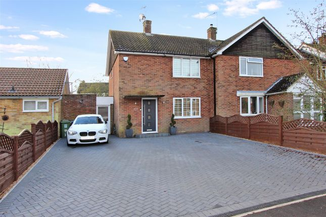 Thumbnail Semi-detached house for sale in Bathurst Road, Hemel Hempstead, Hertfordshire