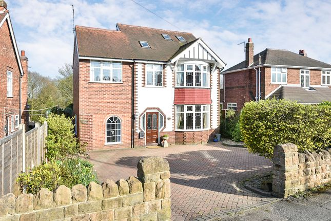 Thumbnail Detached house for sale in Heanor Road, Smalley, Ilkeston
