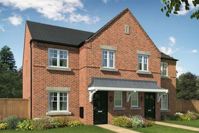 Thumbnail Town house for sale in Darklands Lane, William Nadin Way, Swadlincote