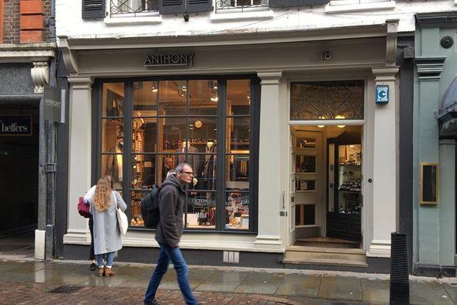 Thumbnail Retail premises to let in 18 Trinity Street, Cambridge