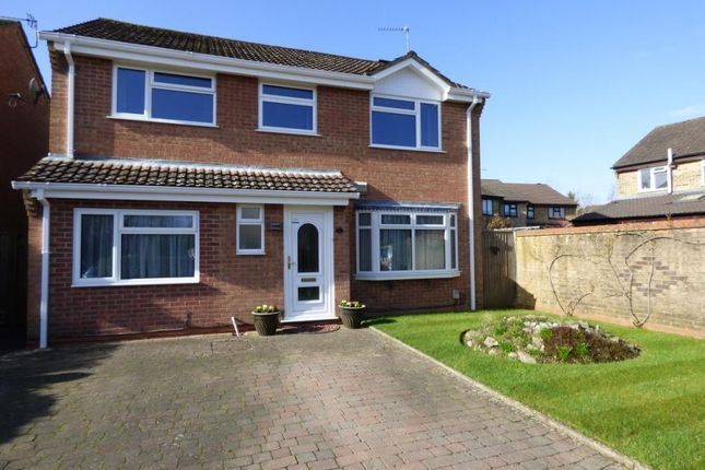 Thumbnail Detached house for sale in The Cleeves, Totton