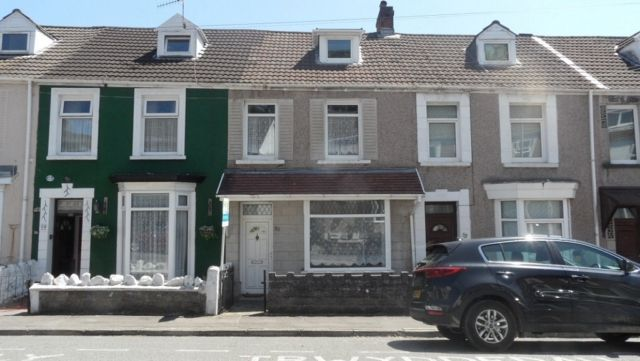 Thumbnail Terraced house to rent in Westbury Street, Brynmill, Swansea.