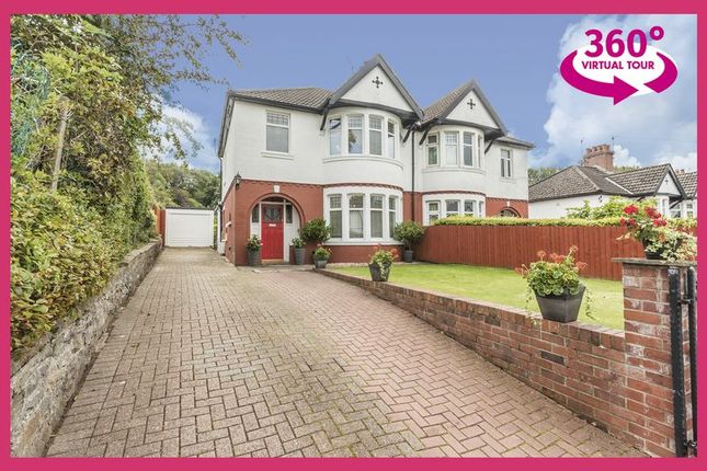 Thumbnail Semi-detached house for sale in Summerfield Hall Lane, Maesycwmmer, Hengoed