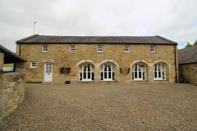 Thumbnail Cottage to rent in The Granary Mill Farm, Mitford, Morpeth