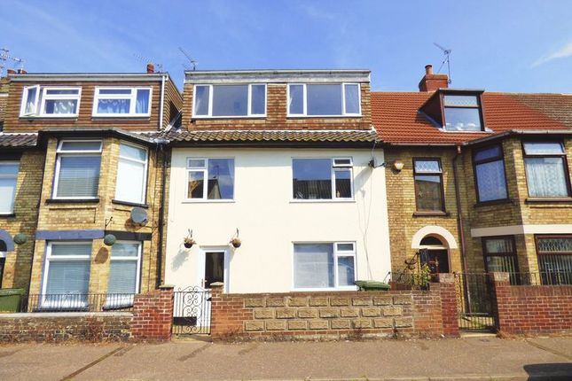 Thumbnail Terraced house for sale in St. Georges Road, Great Yarmouth