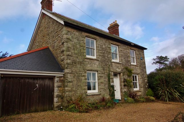Thumbnail Detached house for sale in Relubbus Lane, St Hilary, Cornwall.