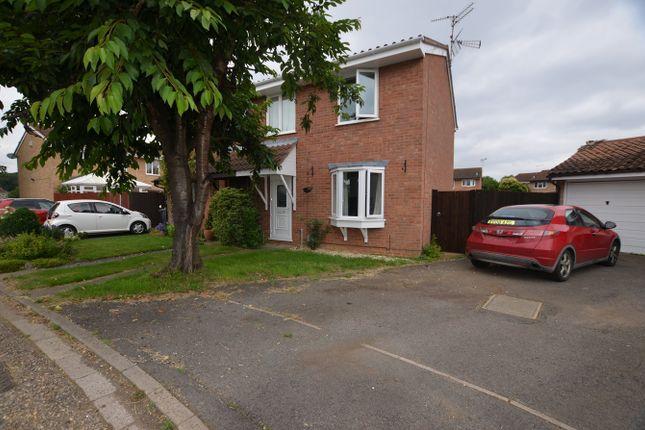 Thumbnail Semi-detached house to rent in Nicholas Taylor Gardens, Bretton, Peterborough