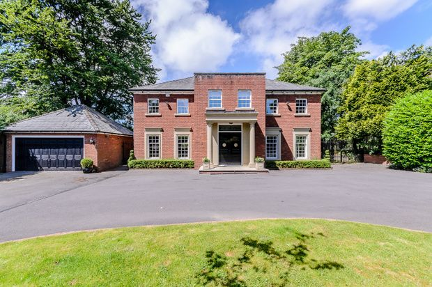 Thumbnail Detached house for sale in The Grange, Princess Road, Lostock, Lostock