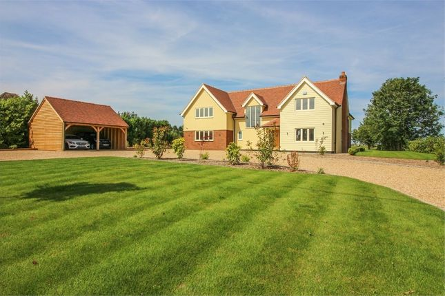Thumbnail Detached house for sale in Slough Road, Allens Green, Sawbridgeworth, Hertfordshire