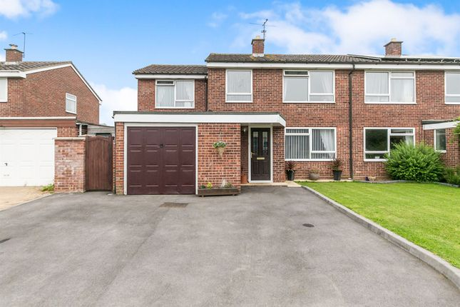 Thumbnail Semi-detached house for sale in Churchill Avenue, Halstead